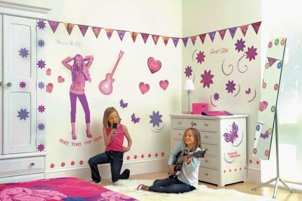 Decorazioni Per Camerette Bambini Fai Da Te : Come decorare la cameretta dei bambini dalla carta da parati alle