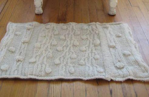 Tappeti Fai Da Te Con Fettuccia : Come realizzare un tappeto con materiali riciclati tutto per lei