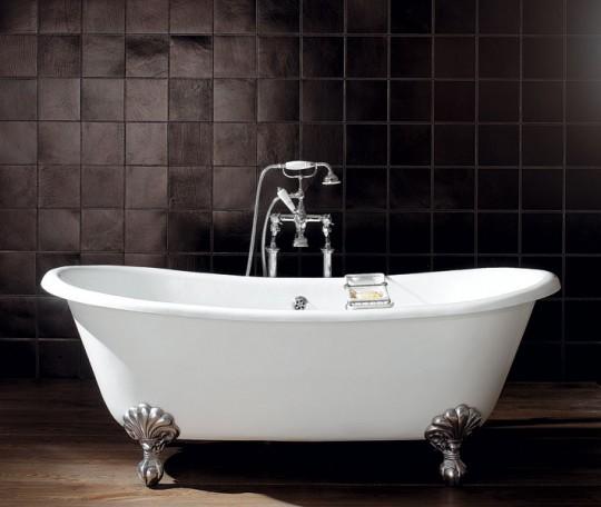 Il bagno classico con le nuove vasche di devon devon - Vasche da bagno su misura ...