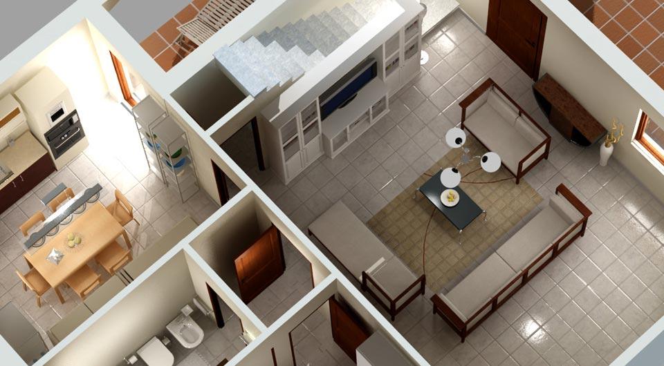 Progettare casa tutto per lei for Progetti interni case