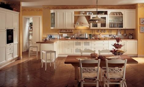 Come arredare la casa in stile country tutto per lei - Arredo cucina country ...