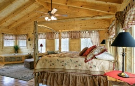Come arredare la casa in stile country tutto per lei - Camera letto country ...