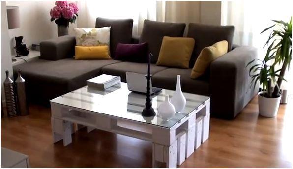 Tavolini Pallet : Come creare da soli un tavolo o tavolino con materiale