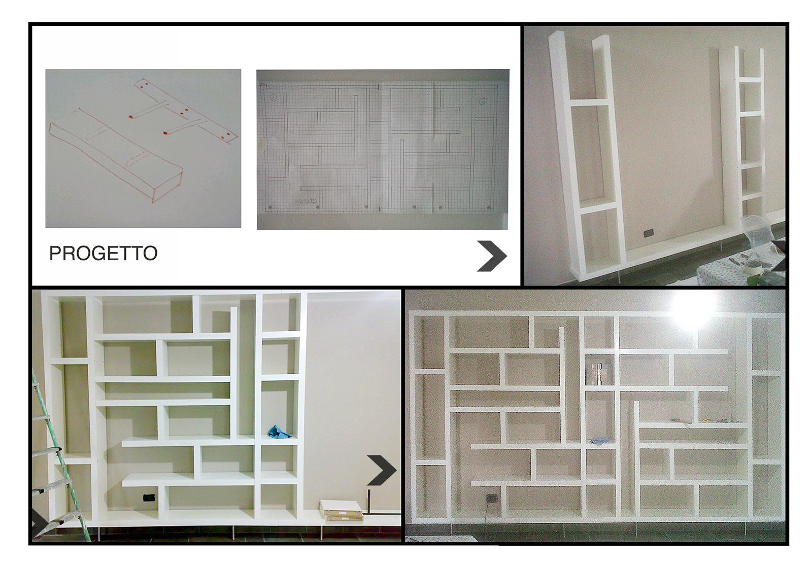 Costruire Mensole Per Libreria A Muro.Come Realizzare Una Maxi Libreria Con Le Mensole Tutto Per Lei