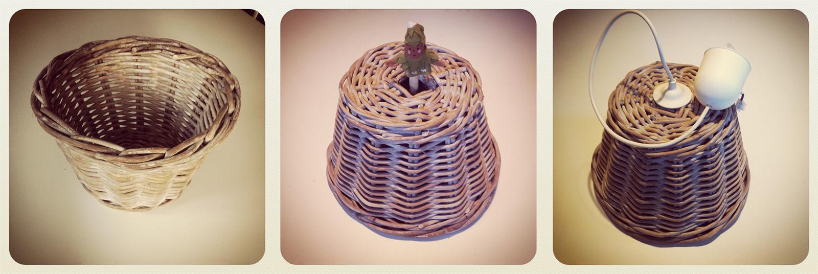 Bien connu Come realizzare delle lampade a sospensione con cappelli e cestini  TN29