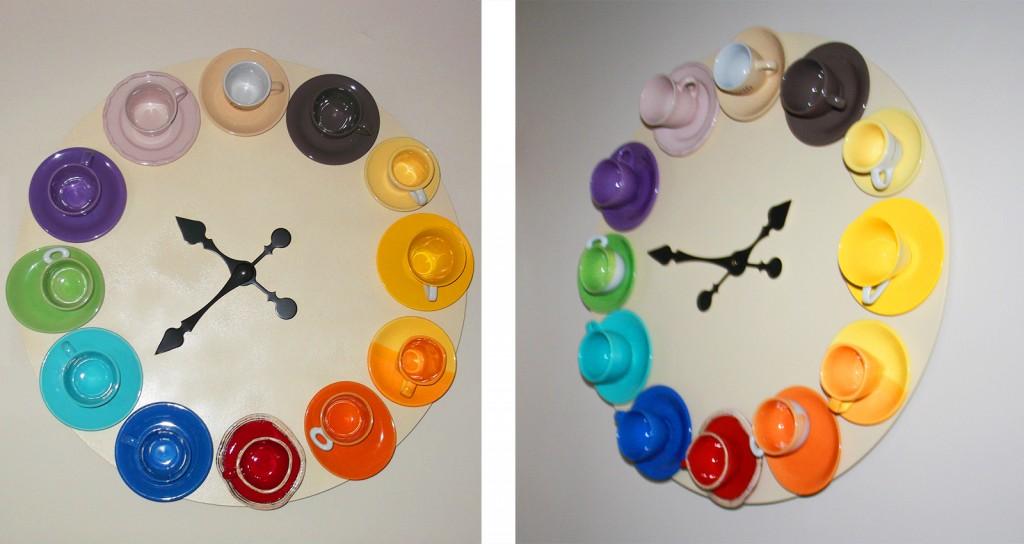 Come realizzare un orologio a parete con le tazzine spaiate - Tutto ...