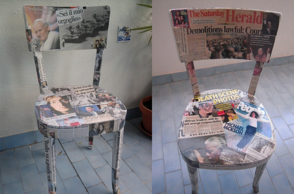 Sedie Decorate Per Natale : Sedie decorate a decoupage set sedie e tavolini di legno