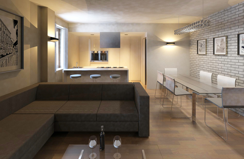 Cucina Salotto - Home Design E Interior Ideas - Refoias.net