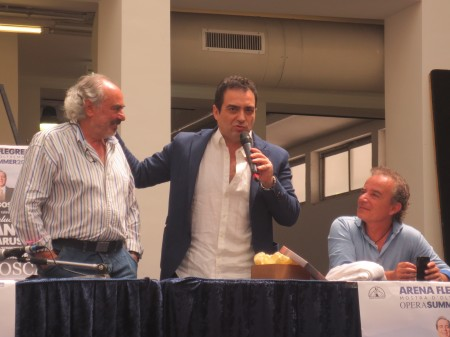 Gianluca Terranova, Rino Manna e Luciano Paulillo - Foto di Giovanna Manna