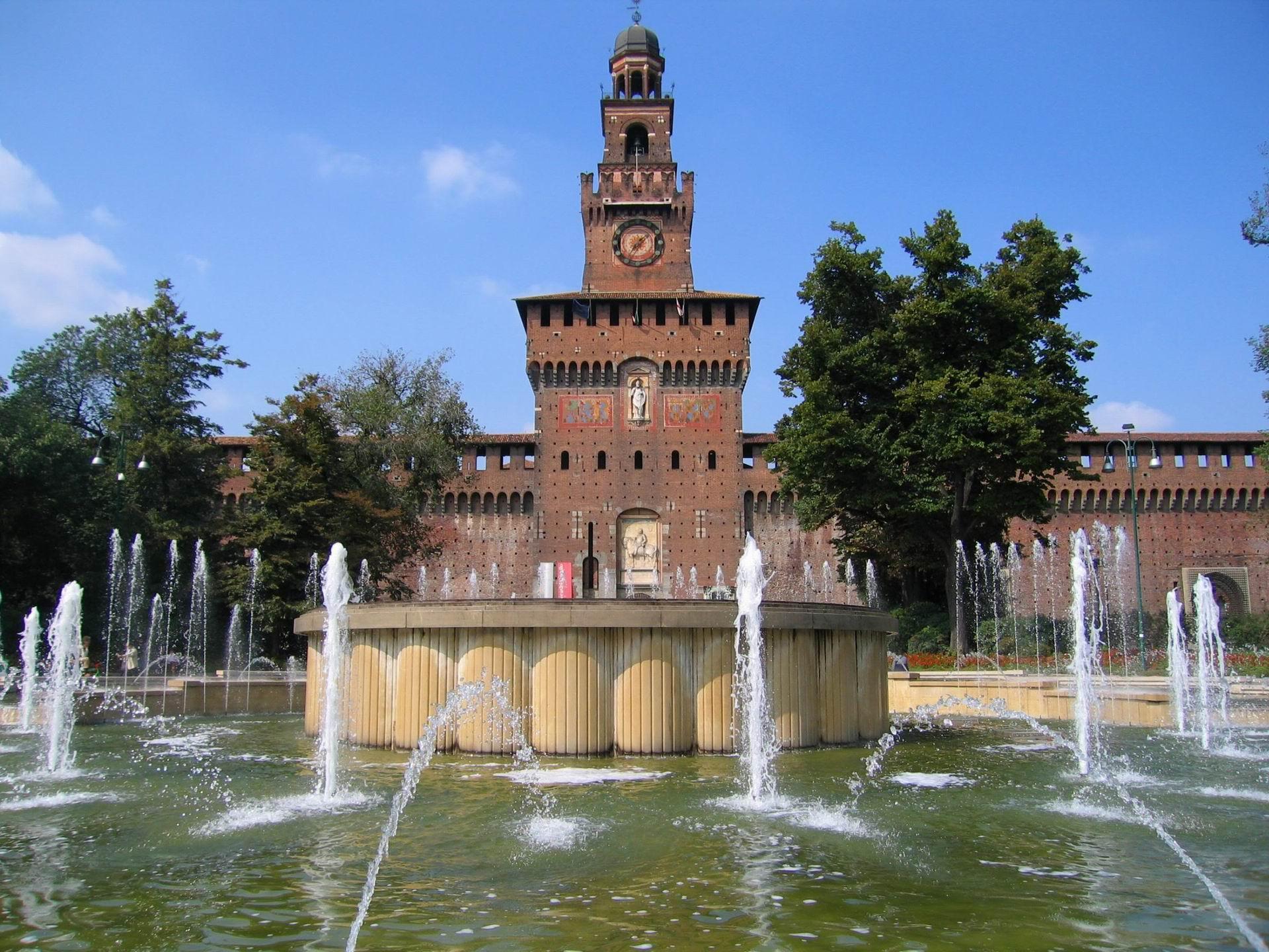 Milano nel castello sforzesco arrivano caffetteria bar e for Immagini caffetteria