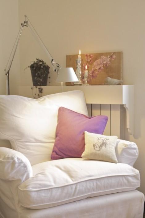 Come nascondere il calorifero con una mensola tutto per lei for Mensola sopra il letto