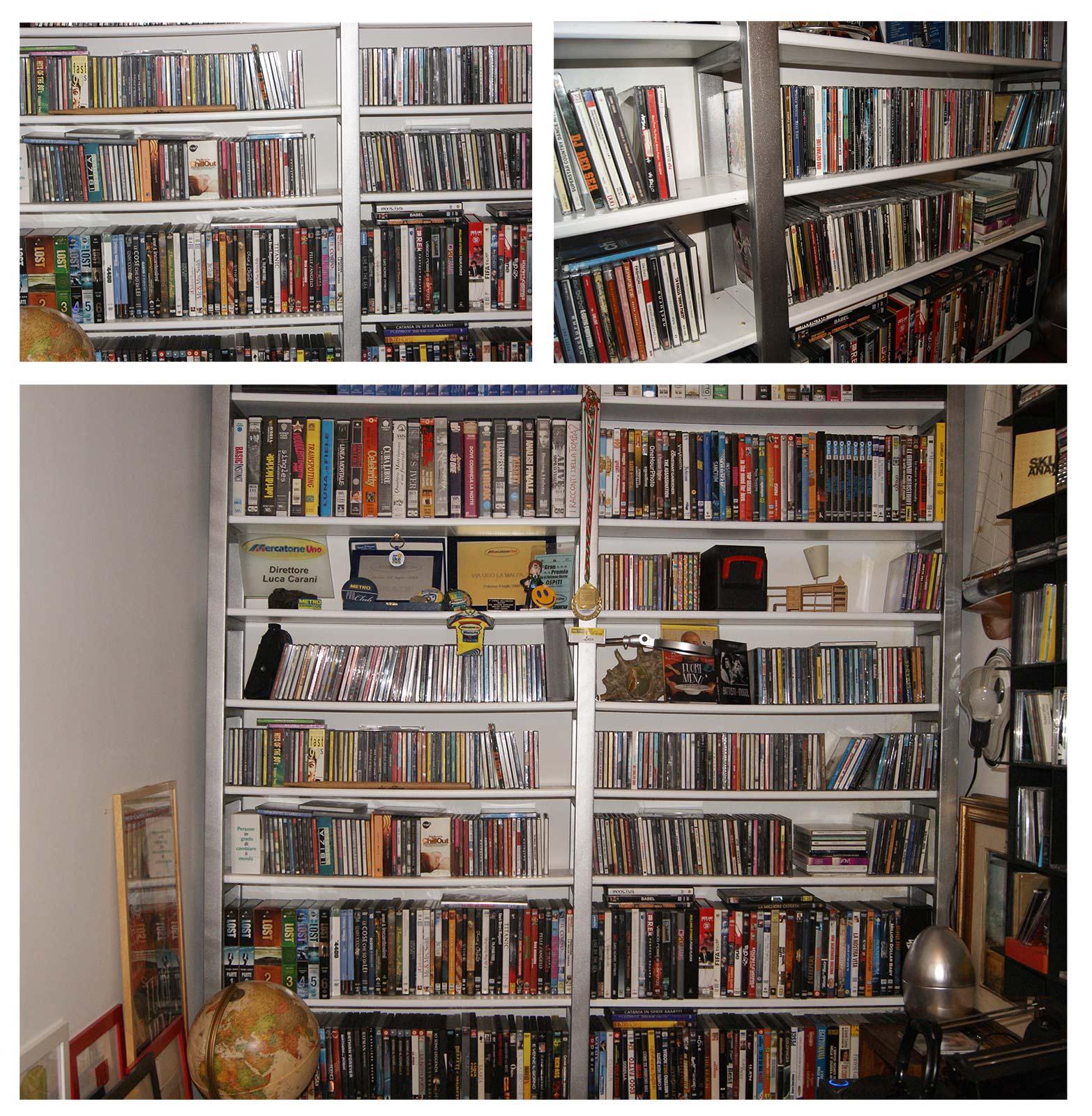 Come creare una libreria in ferro zincato e legno tutto per lei - Parete in legno fai da te ...
