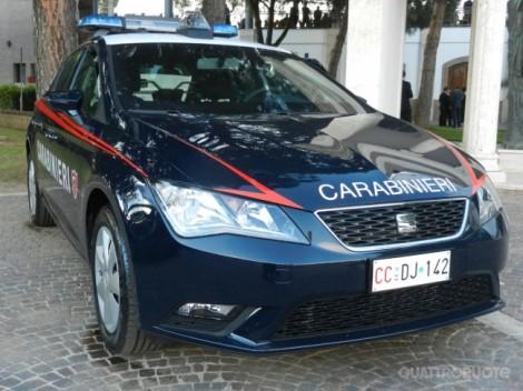 gazzella spagnola carabinieri