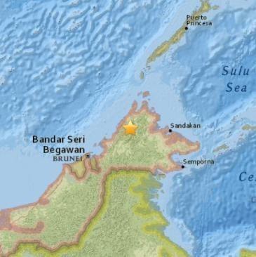 malesia terremoto