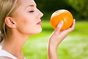 mangiare arancie