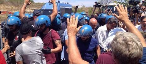 scontri con polizia