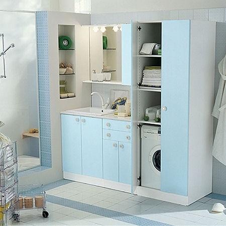 Come realizzare una lavanderia quando in casa si ha poco spazio tutto per lei - Accessori lavanderia casa ...