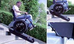 Sedie A Rotelle Per Scale : In arrivo scalevo la sedia a rotelle che sale le scale tutto