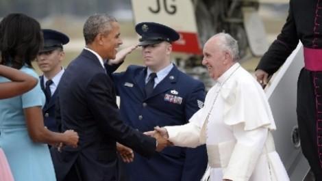 papa francesco e obama