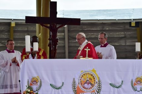 papa francesco uganda