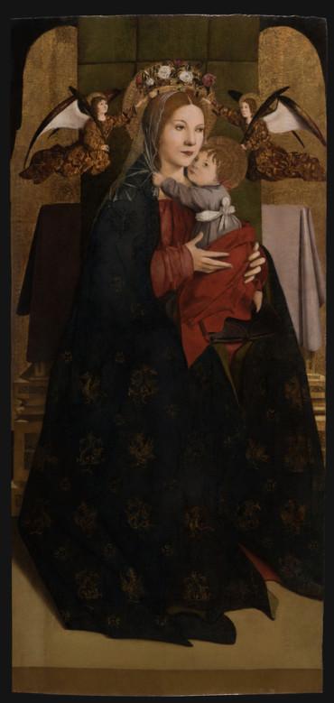 trittico Antonello da Messina