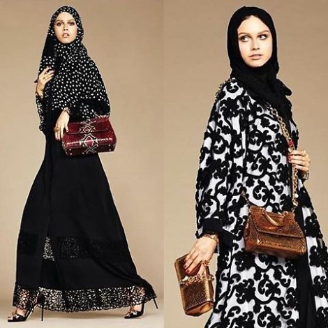 abiti dolce e gabbana per musulmane