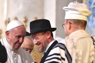 papa in sinagoga