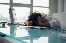 stress in ufficio aria viziata