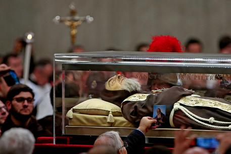 Saint Pio da Pietralcina and Saint Leopoldo Mandic in Vatican