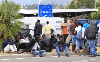 ventimiglia sgombero migranti
