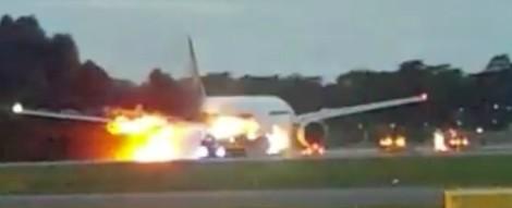 atterraggio di emergenza aereo