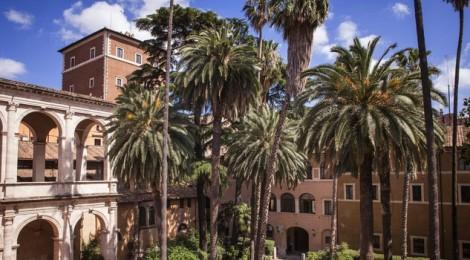 giardino di palazzo venezia