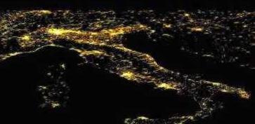 inquinamento luminoso italia