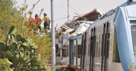 scontro tra treni