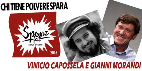 VINICIO-CAPOSSELA e GIANNI-MORANDI-sponz-fest
