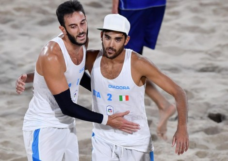 beach volley italia olimpiadi