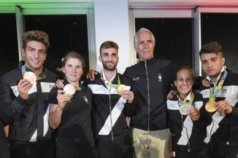 olimpiadi 2016 oro italia