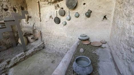 scavi cucina pompei