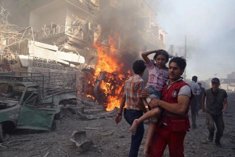 siria bombardamenti