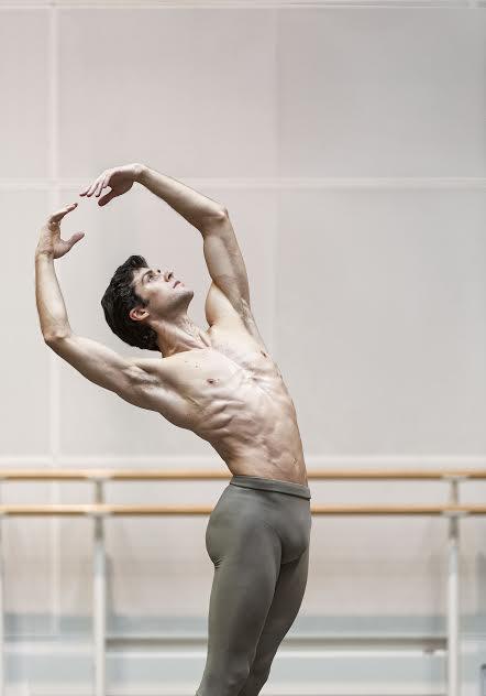 Roberto Bolle - Royal Opera House, London 2014 -  photo Luciano Romano