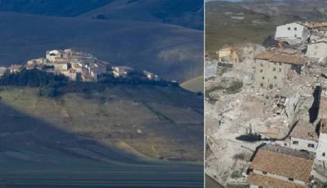 terremoto centro italia norcia