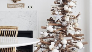 Alberi Di Natale In Legno Addobbati : Decorazioni in legno albero di natale ideapiu decorazioni in