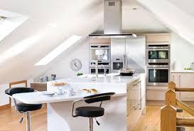 cucina in mansarda