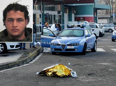 attentatore di berlino ucciso in italia