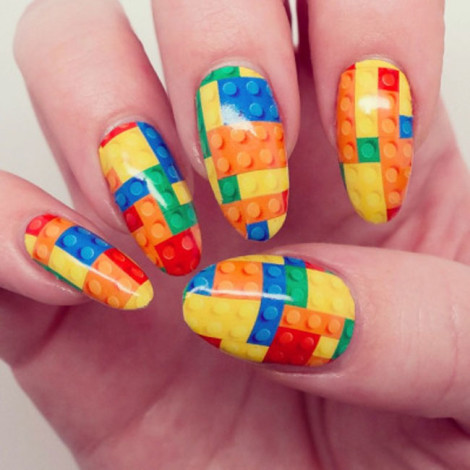 lego nail art 2017