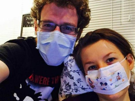 Johanna Watkins allergica al marito