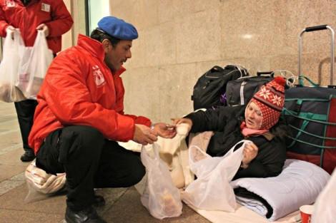 city angels aiuto senza tetto