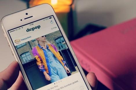 depop acquisti online di abiti vip