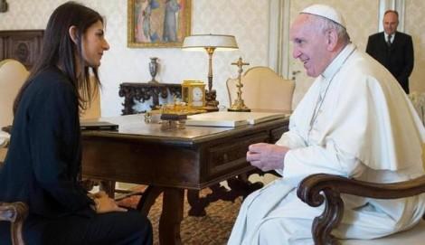 raggi e papa francesco