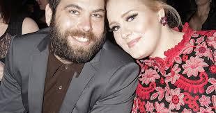 Adele e Simon Koneck sposi
